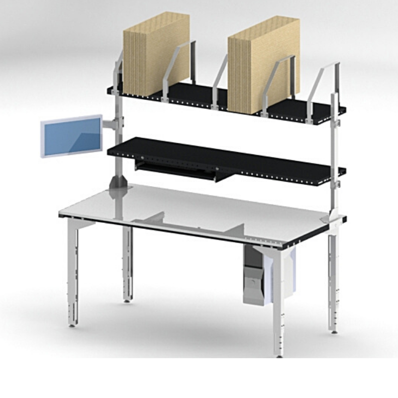 Table 1800x900 emballage + informatique